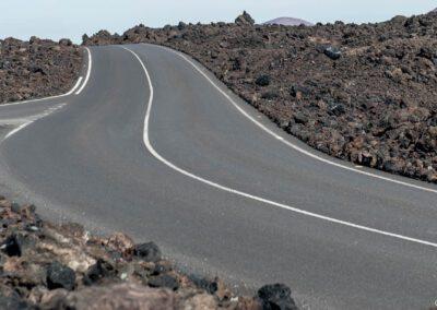 Lava coast south road